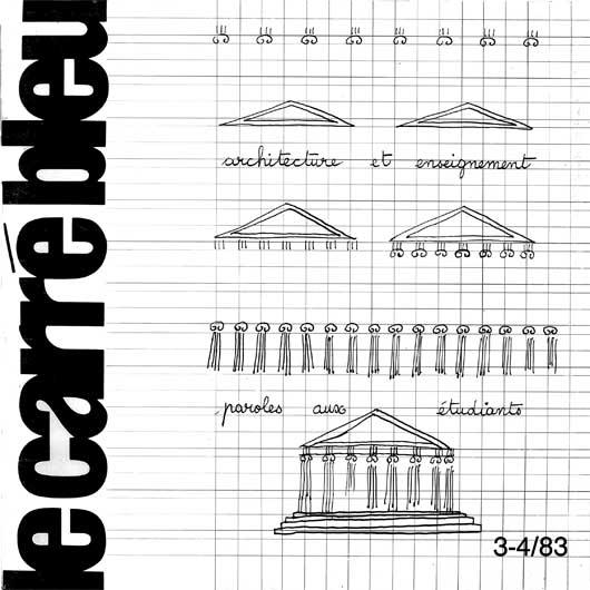 Le carr bleu feuille internationale d for Architecture traditionnelle scandinave